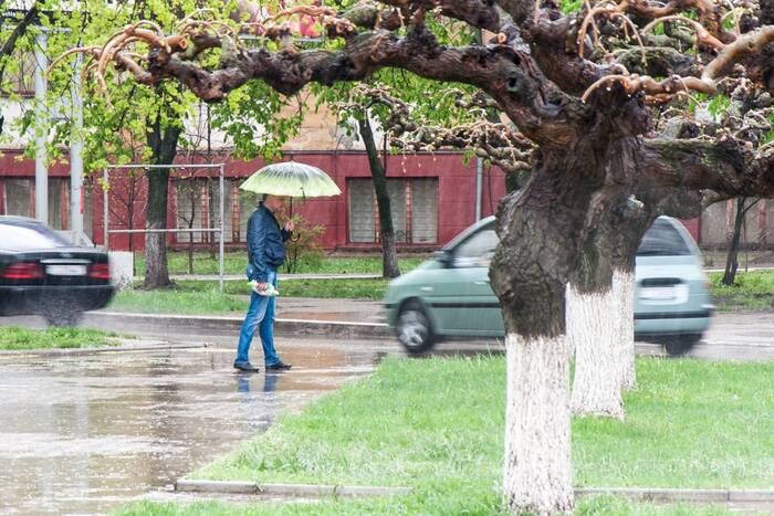 14 апреля в Приднестровье местами пройдет дождь