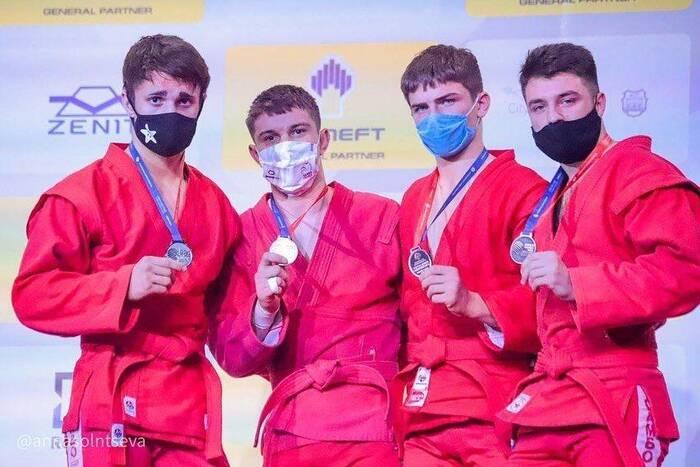 Артём Грибиненко из ПМР вошёл в топ-3 чемпионата мира по самбо