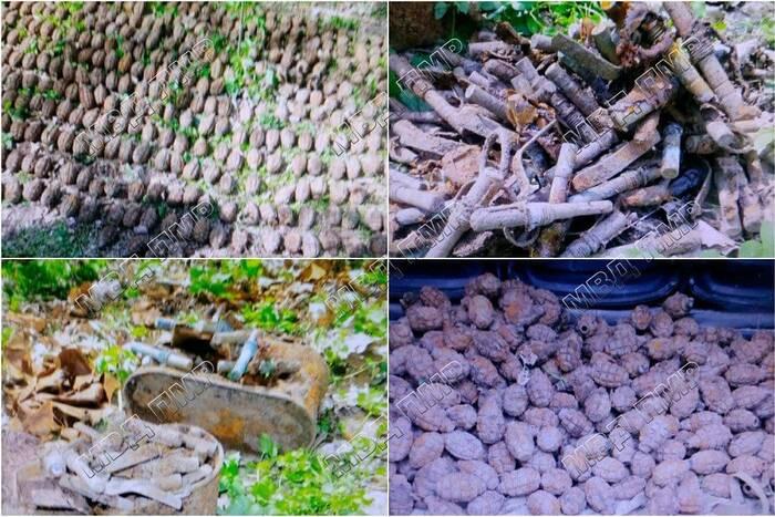 Бендерчанин нашёл у реки Ботна боеприпасы времён Великой Отечественной войны