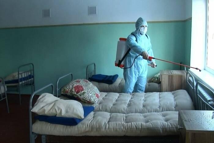 COVID-госпиталь на базе Республиканского кадетского корпуса закрыт