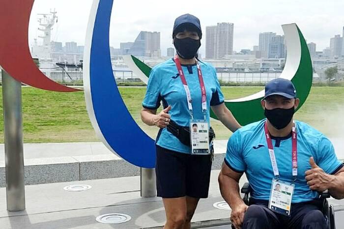 Денис Раюл дебютировал на Паралимпийских играх