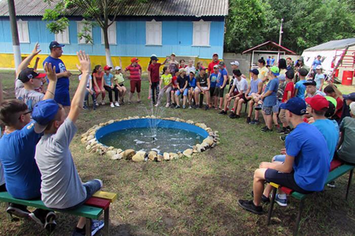 Для юнармейцев открылся лагерь «Красная звезда»