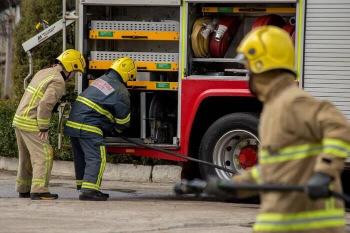 Два пожарных расчёта ликвидировали возгорание на столичной улице Текстильщиков