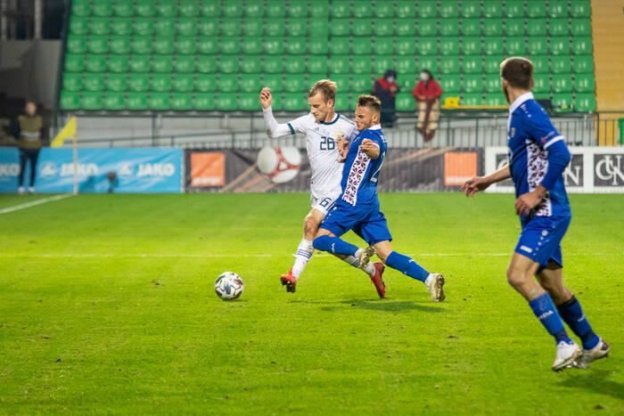 Футбол сборных: Молдавия и Россия разошлись миром
