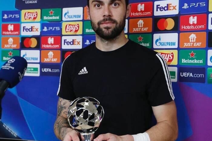 Георгиос Атанасиадис стал лучшим игроком матча «Реал» - «Шериф»