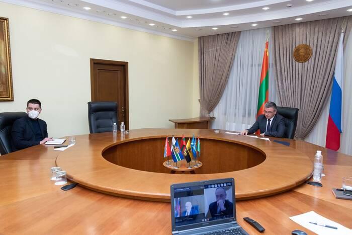 Глава Каменского района доложил Президенту об исполнении государственных, муниципальных и инвестпрограмм