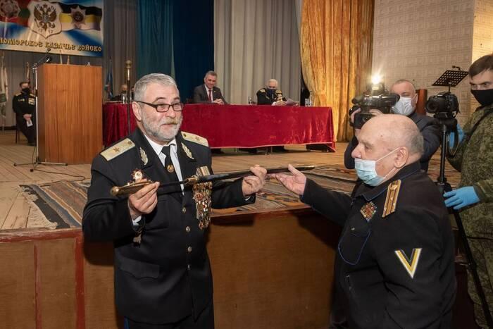Игорь Небейголова переизбран атаманом ЧКВ
