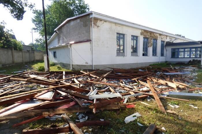 Из ФКВ профинансируют ремонт соцобъектов, пострадавших во время летних ливней