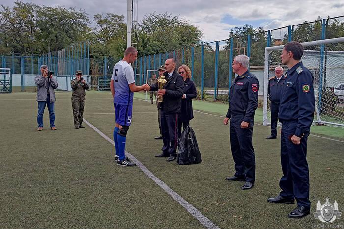 Команда МВД стала лучшей в турнире по мини-футболу