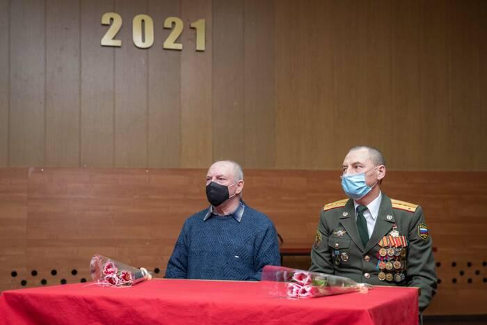 Курсанты Военного института встретились с ветеранами-интернационалистами