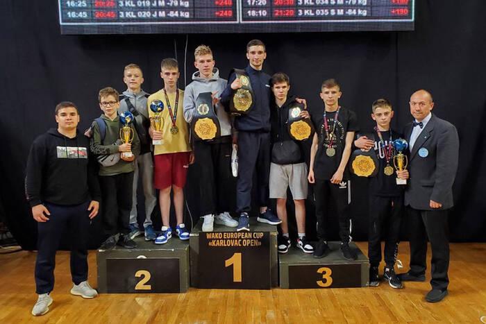Максим Казаку стал победителем второго этапа Кубка Европы по кикбоксингу WAKO