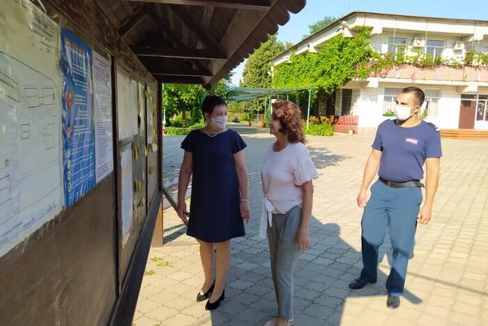 Комиссия проверила соблюдение карантинных норм в Дубоссарском оздоровительном лагере