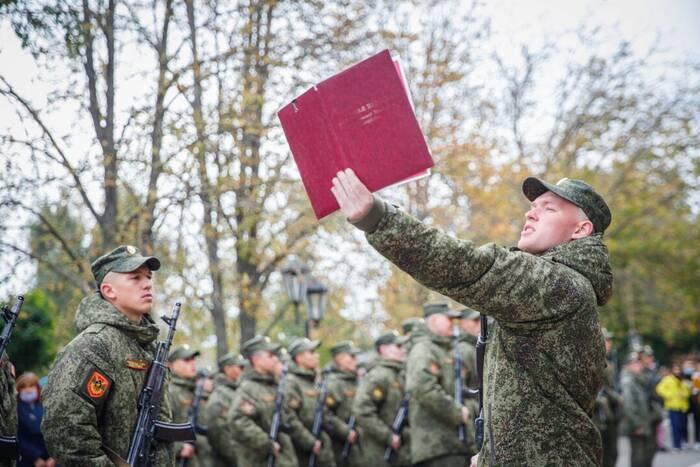 Молодое пополнение Вооруженных сил ПМР приняло присягу