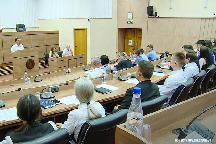 Молодёжный парламент IV созыва провёл первое заседание