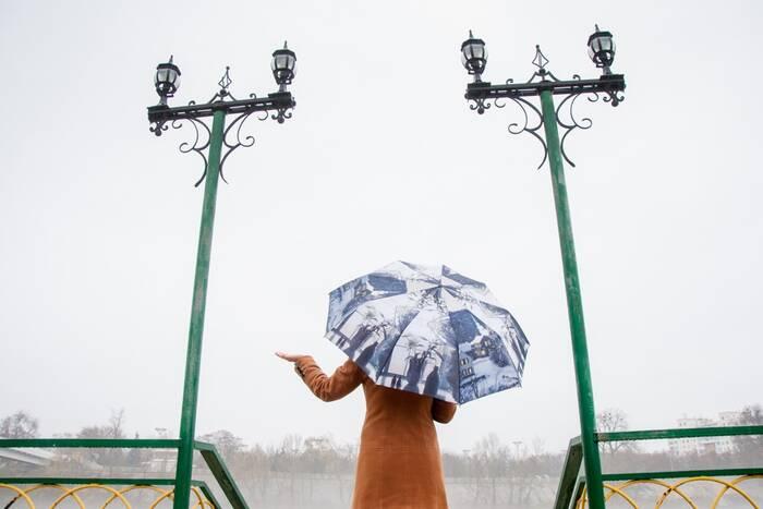 На пятницу синоптики прогнозируют дождь и потепление до +7°С