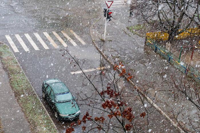 Ночью и утром 1 марта местами в республике пройдет снег с дождем