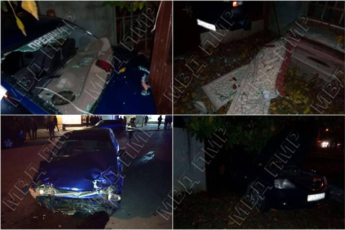 Ночью в Бендерах произошло ДТП, в котором пострадал 47-летний мужчина
