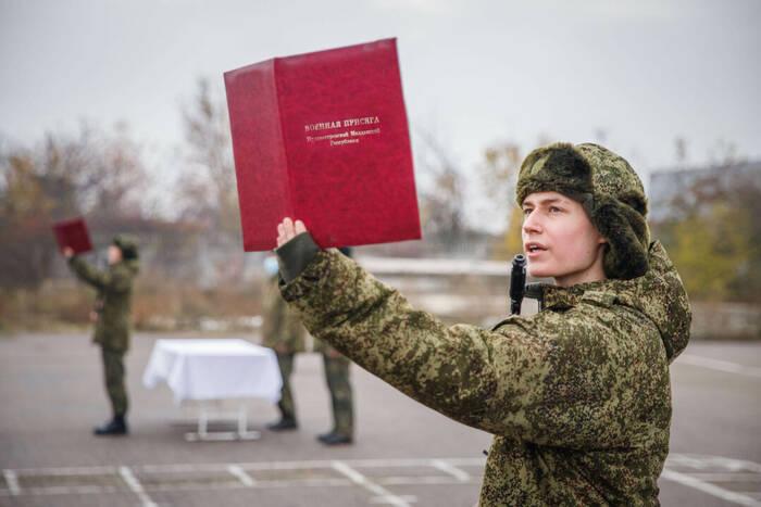 Новобранцы Вооруженных сил торжественно приняли присягу