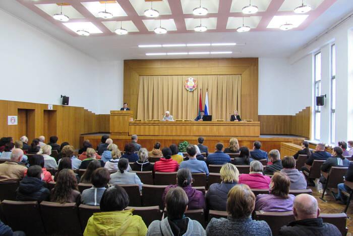 Общественники Каменки выступили в поддержку Вадима Красносельского