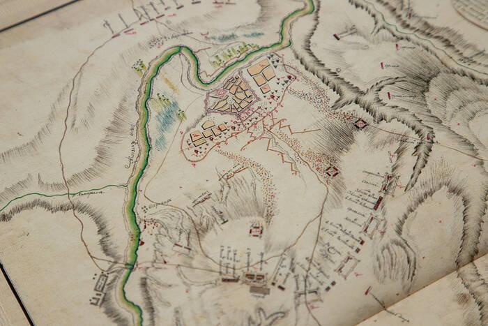 Опубликованы исторические карты осады Бендерской крепости в 1770 году