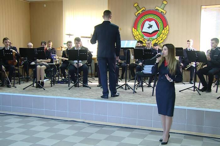 Оркестр ТЮИ МВД ПМР отметил свой 28-й день рождения