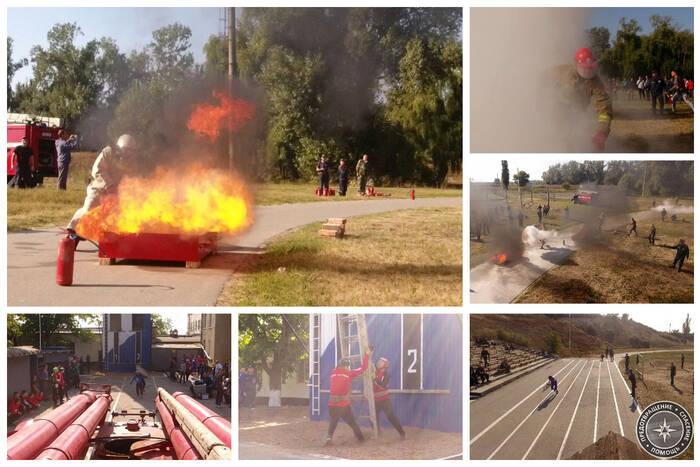 Пожарные и спасатели со всего Приднестровья сразились за звание лучших