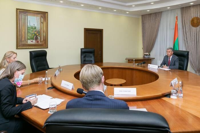 Президент ПМР позитивно оценил желание Швеции оказать содействие в молдо-приднестровских переговорах