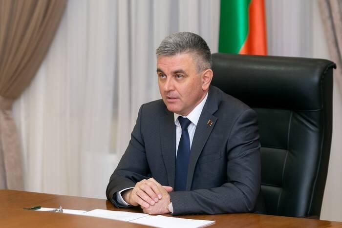 Президент ПМР выступает с Посланием к органам госвласти и управления