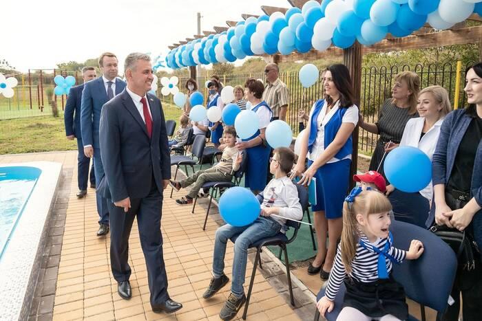 В дубоссарском Центре реабилитации для детей с ОПЖ открыли бассейн