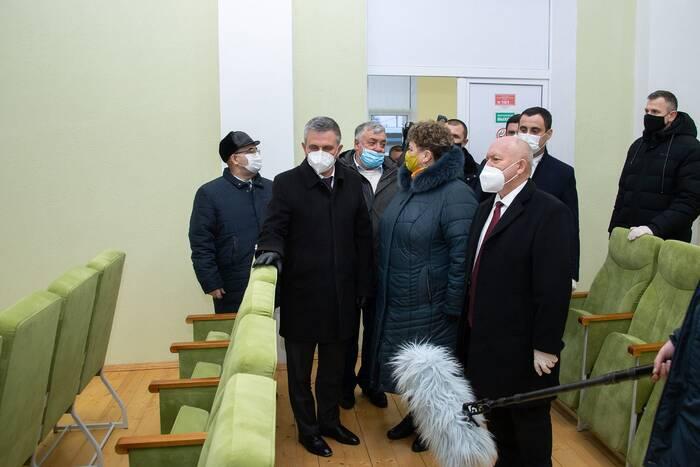 Вадим Красносельский посетил обновлённый Дом культуры села Катериновка