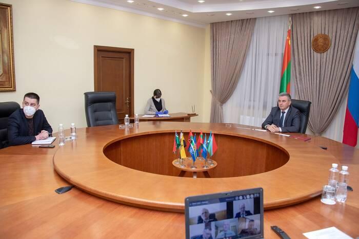 Президент заслушал доклад главы Рыбницкого района
