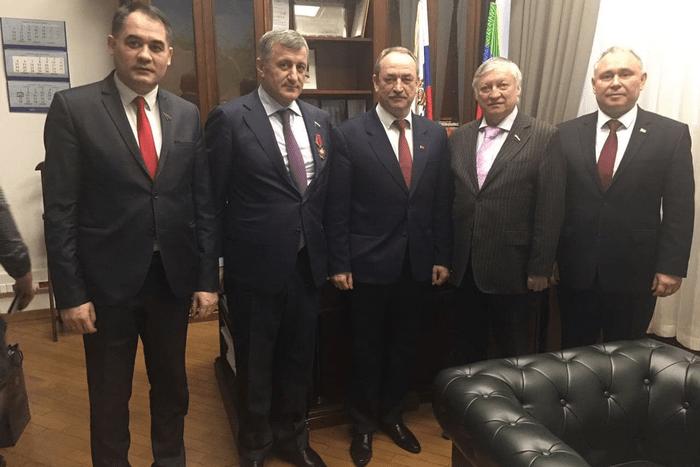 Приднестровская парламентская делегация провела встречу с Анатолием Карповым
