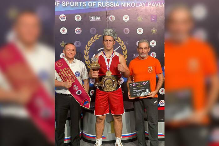 Приднестровский боксёр Николай Бурдюжа победил на международном турнире в Краснодаре