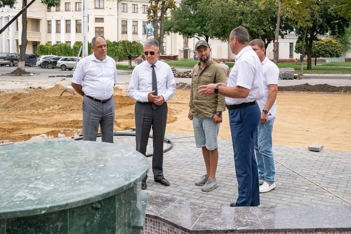 Ход строительных работ в ПГУ проинспектировал глава государства