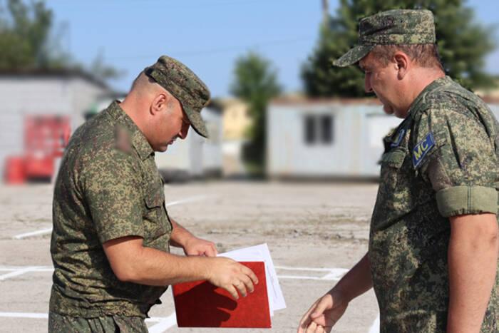С 29-й годовщиной ввода миротворческого контингента РФ в Приднестровье поздравили миротворцев в Дубоссарах