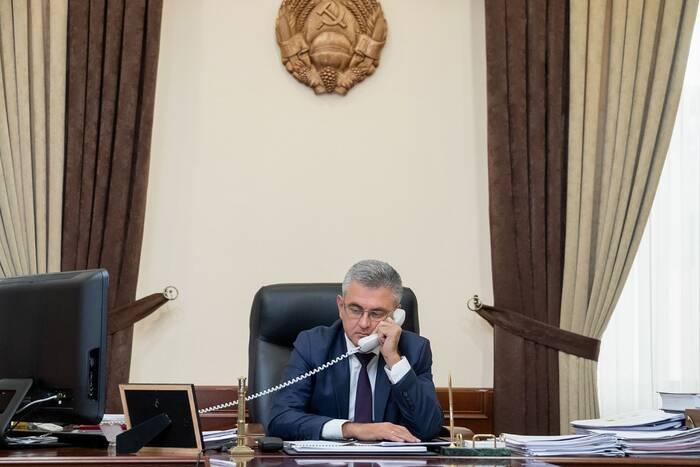 Состоялся телефонный разговор Вадима Красносельского с премьер-министром Молдовы