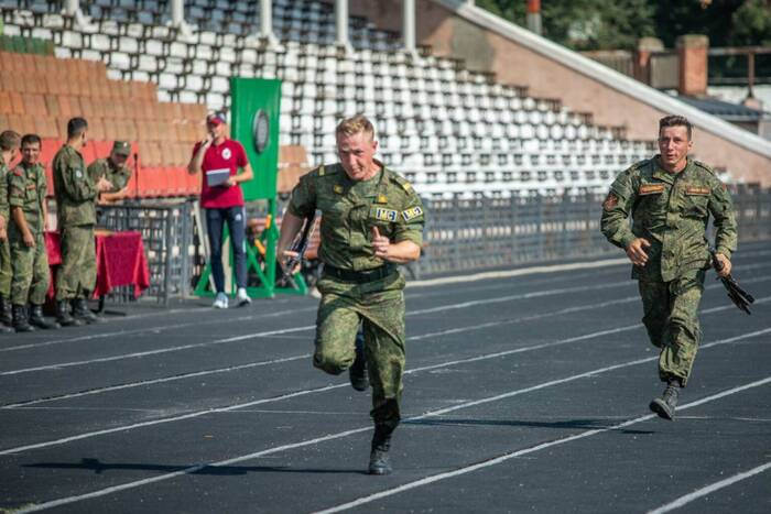 Спортивный клуб армии провёл ежегодную спартакиаду