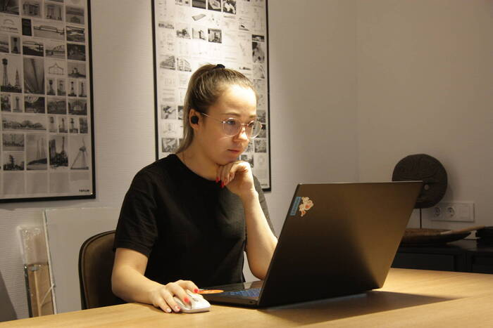 «Приднестровье» расскажет об авторе логотипа Года молодёжи Анастасии Родионовой
