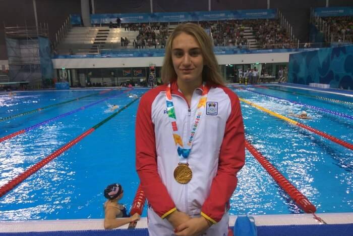 Татьяна Салкуцан - на чемпионате Европы по плаванию