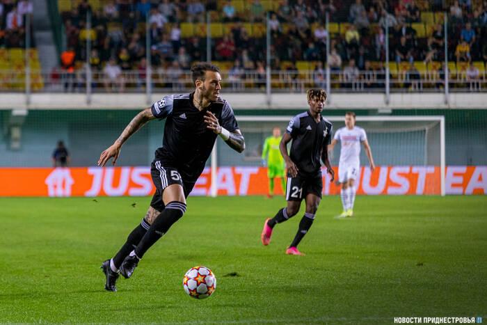 Тираспольский «Шериф» поднялся на 10 позиций в клубном рейтинге УЕФА