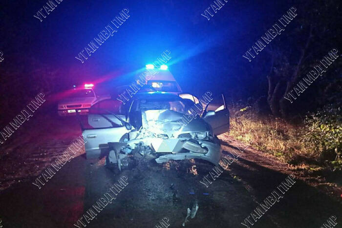 У села Роги в аварии погиб пассажир иномарки