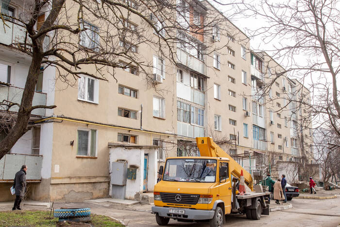 Угрозы обрушения нет. Специалисты проверили дом с трещинами по улице Юности в Тирасполе