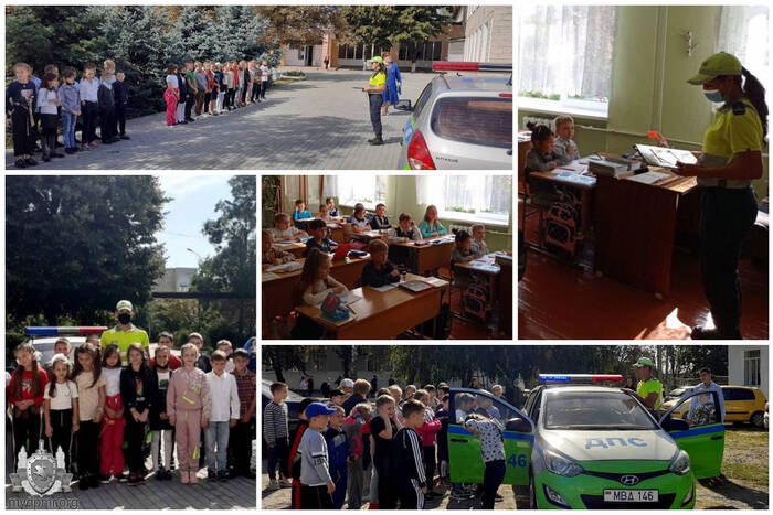 Уроки безопасного поведения на дорогах прошли в школах Дубоссарского района