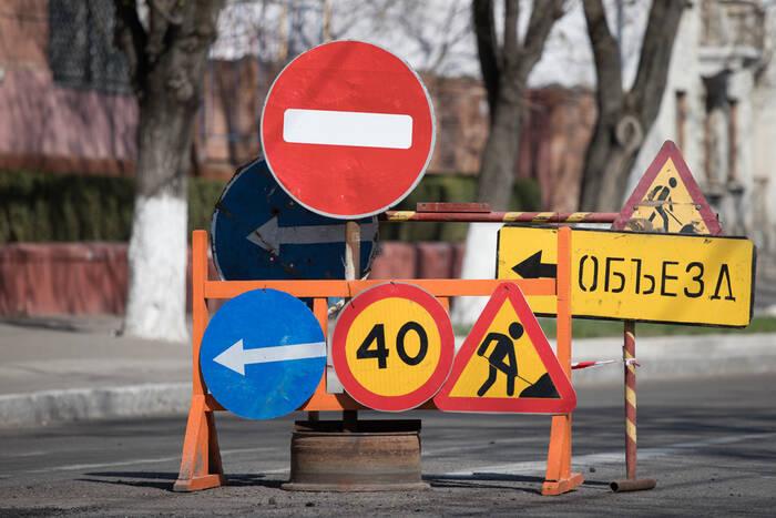 В Бендерах начался ямочный ремонт дорог