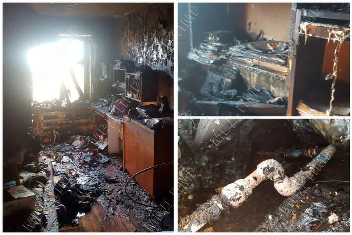В Бендерах сгорела квартира в многоэтажном доме