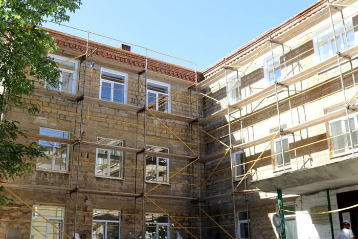 Масштабный ремонт проводится в детской поликлинике Бендер