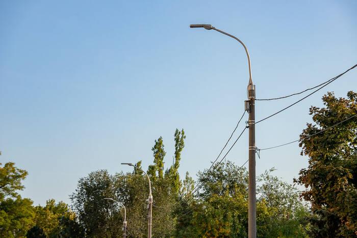 В Днестровске реализуют программу реконструкции уличного освещения
