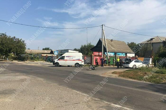 В ДТП в Слободзее пострадал водитель мопеда