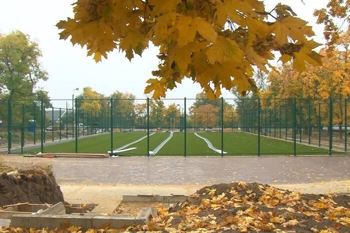 Строительство спортивной зоны парка Энергетиков в Дубоссарах планируют завершить к 27 октября