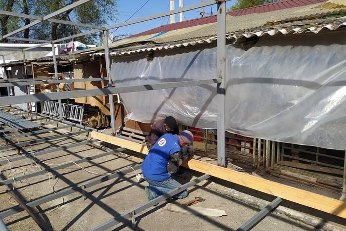 В Дубоссарах реконструируют городской рынок